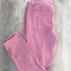 Maurice's Rose Jeggings